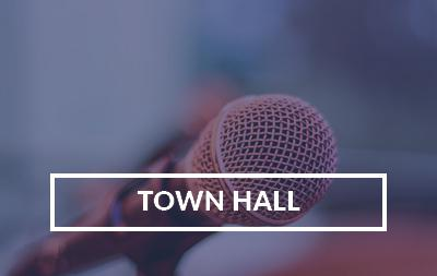 Town Hall #38. Wednesday, March 3, 2021