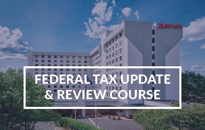 2021 Federal Tax Update and Review Course - NY