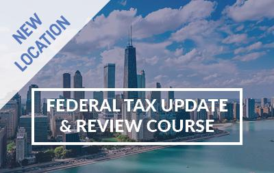 2020 Federal Tax Update and Review Course - Atlanta